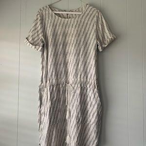 LOFT tunic dress/ cotton linen